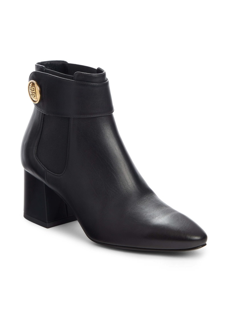 Givenchy 4G Button Charm Chelsea Bootie (Women)