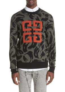Givenchy 4G Jacquard Wool Sweater