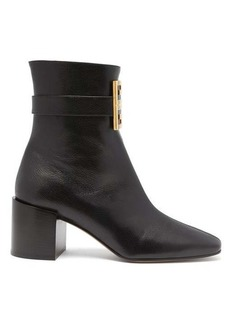 Givenchy 4G leather boots