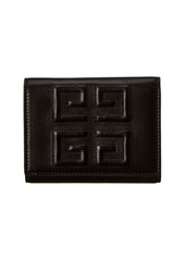 Givenchy 4G Leather Trifold Wallet