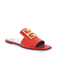 Givenchy 4G Logo Slide Sandal (Women)