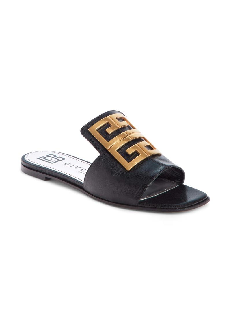 Givenchy 4G Logo Slide Sandal (Women)