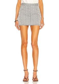 Givenchy 4G Mini Denim Skirt