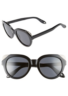 Givenchy 50mm Retro Sunglasses