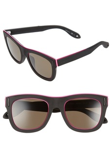 Givenchy 52mm Cat Eye Sunglasses