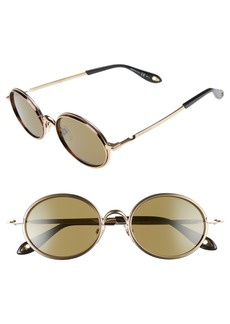Givenchy 52mm Round Sunglasses