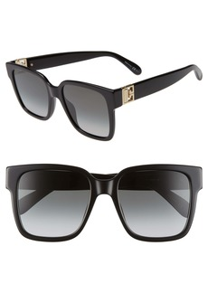 Givenchy 53mm Square Sunglasses