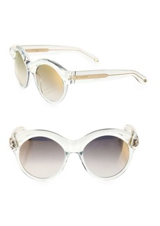 54MM Rounded Sunglasses