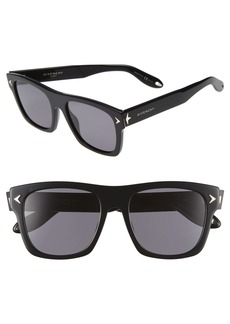 Givenchy 55mm Polarized Retro Sunglasses