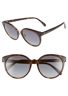 Givenchy 55mm Special Fit Gradient Sunglasses