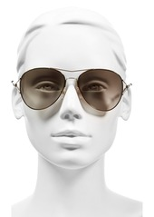 Givenchy 56mm Aviator Sunglasses