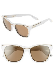 Givenchy 56mm Cat Eye Sunglasses