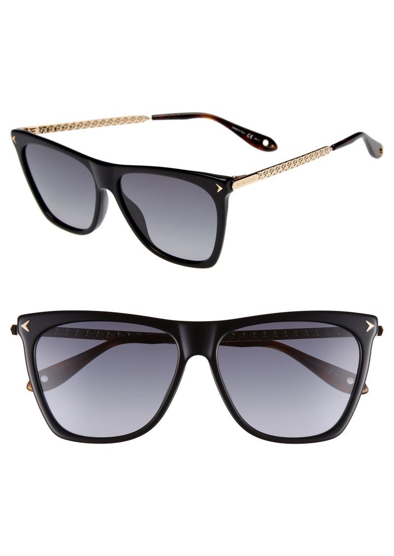 b5a5e61041 Givenchy Givenchy 58mm Flat Top Sunglasses | Sunglasses