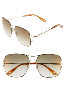 Givenchy 58mm Sunglasses