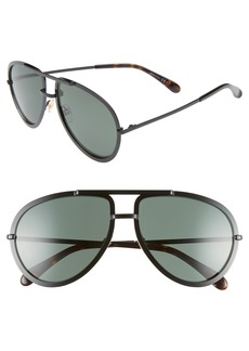 Givenchy 60mm Aviator Sunglasses