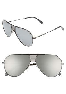 Givenchy 61mm Aviator Sunglasses
