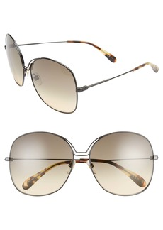 Givenchy 61mm Oversize Sunglasses