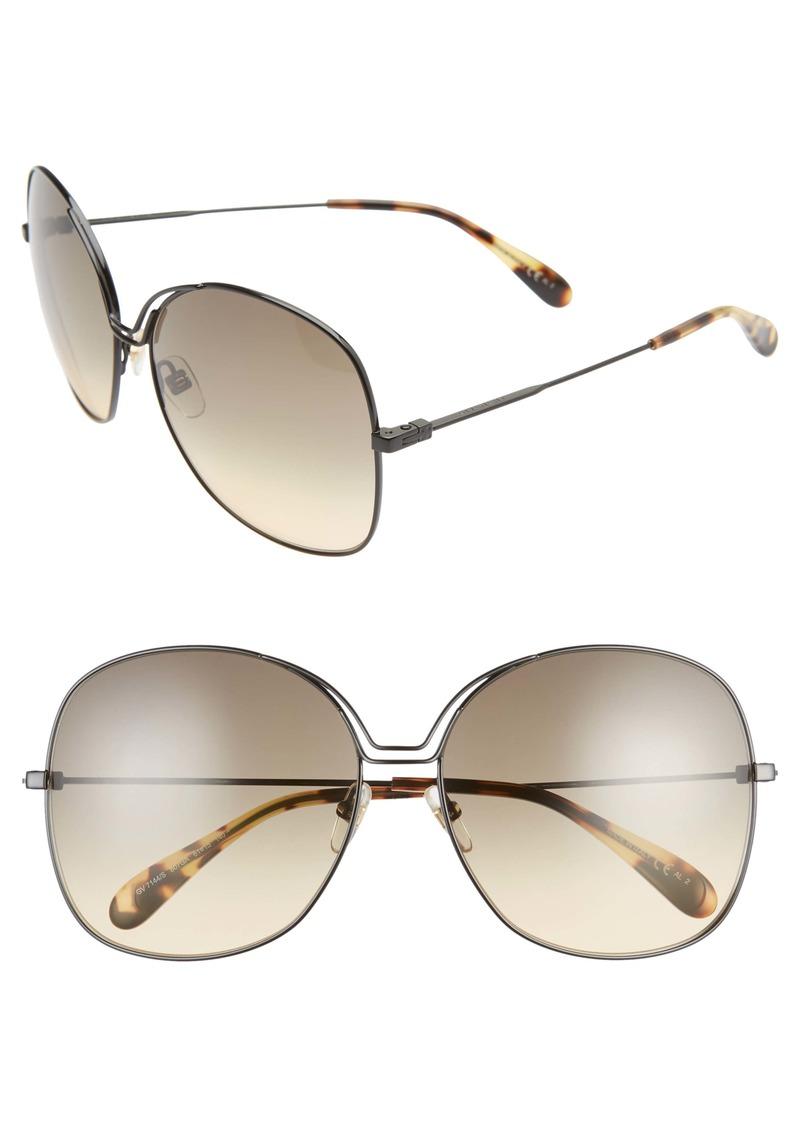 Givenchy 61mm Oversize Sunglasses