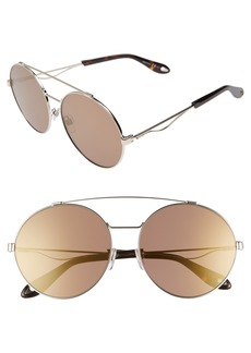 Givenchy 62mm Oversize Round Sunglasses