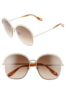 Givenchy 7030/S 58mm Oversized Sunglasses