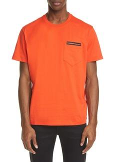 Givenchy Address Tape Pocket T-Shirt