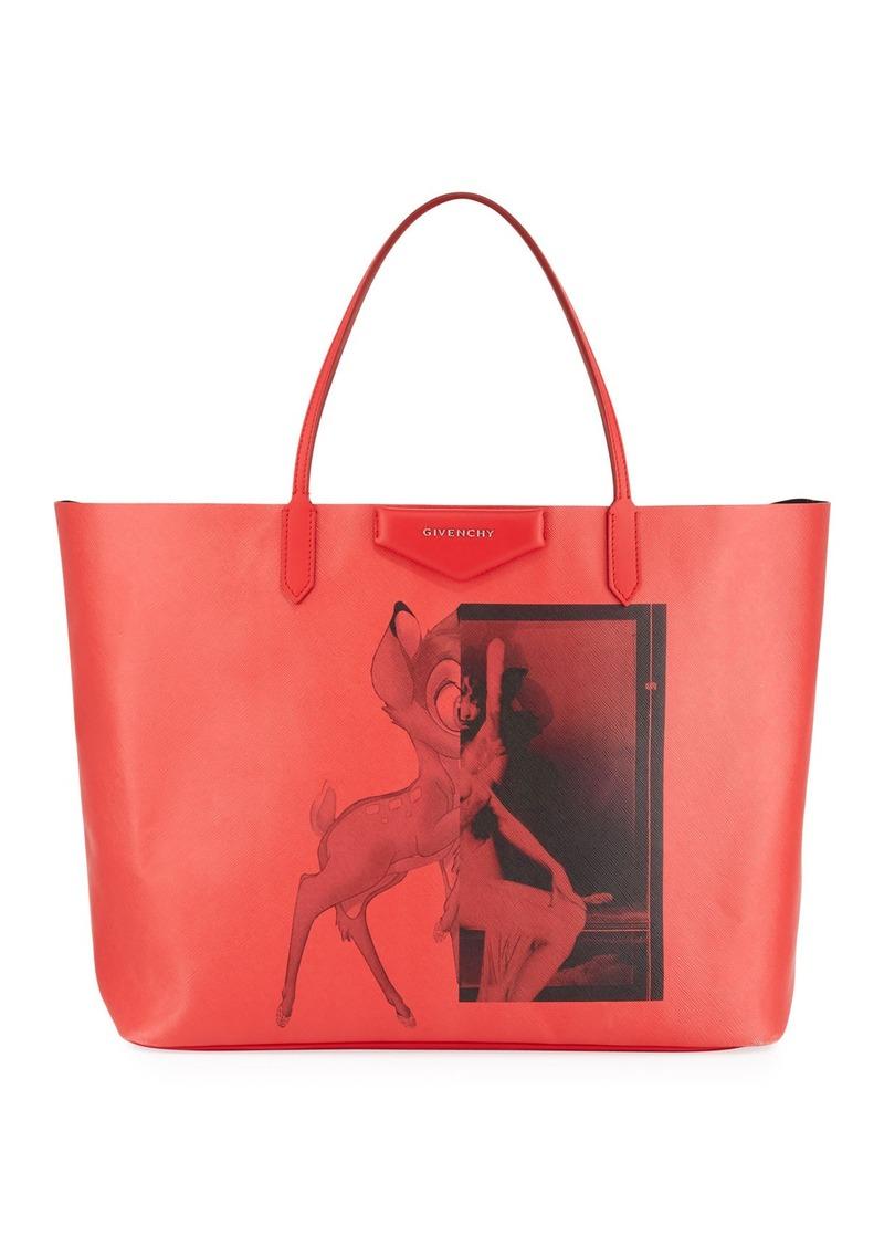 Givenchy Antigona Coated Canvas Per Tote Bag
