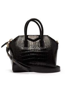 Givenchy Antigona mini lizard-effect leather bag