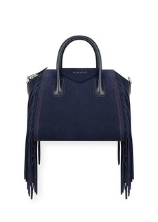 Givenchy Antigona Small Fringed Satchel Bag