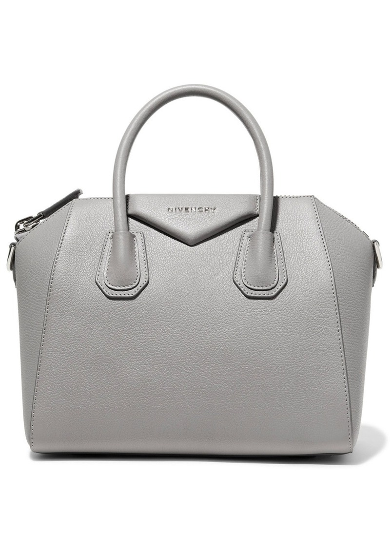 5064bffafb Givenchy Antigona Small Textured-leather Tote