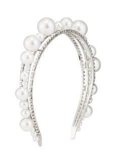 Givenchy Ariana Pearly & Crystal Headband