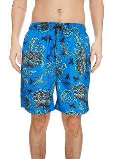 Givenchy Atlantis Floral Swim Trunks