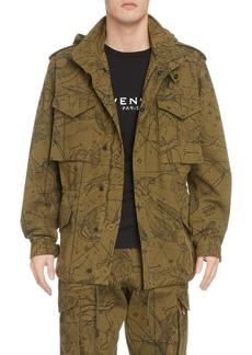 Givenchy Atlantis Hooded Jacket