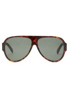 Givenchy Aviator tortoiseshell-acetate sunglasses