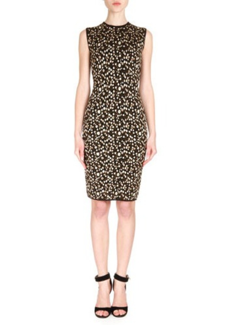Givenchy Baby's Breath-Printed Sheath Dress