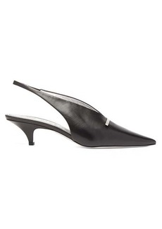 Givenchy Bar leather slingback pumps