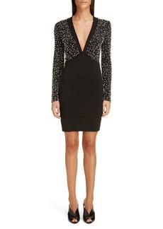 Givenchy Beaded Long Sleeve Dress