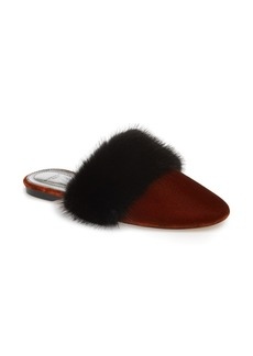 Givenchy Bedford Genuine Mink Fur Mule (Women)