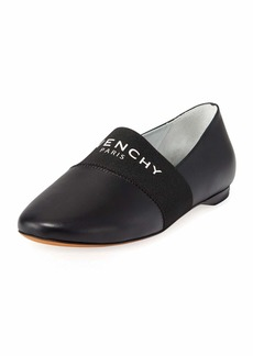 Givenchy Bedford Leather Slipper Flats
