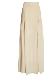 Givenchy Belted High Waist Flare Pants