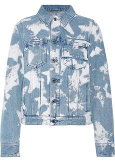 Givenchy Bleached denim jacket