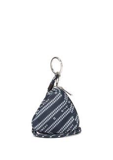 Givenchy Bond logo-print triangle pouch