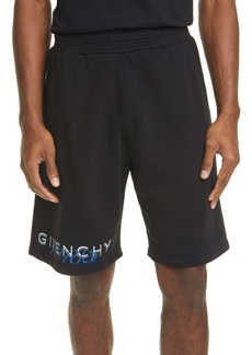 Givenchy Boxing Fit Amore Print Shorts