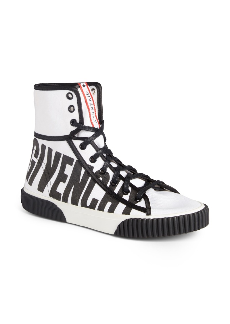 Givenchy Givenchy Boxing Logo High Top Sneaker Women Shoes