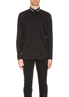 Givenchy Branded Collar Shirt