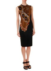 Givenchy Butterfly-Wing-Pattern Knit Dress