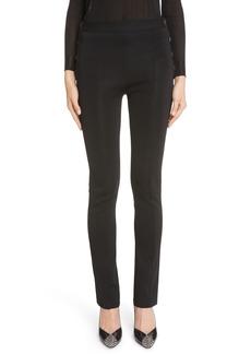 Givenchy Button Punto Milano Knit Pants