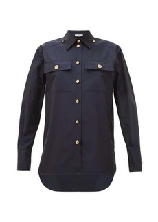 Givenchy Buttoned cotton-poplin shirt