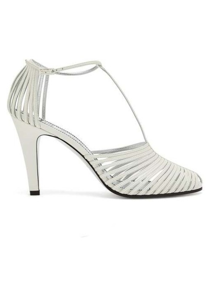 Givenchy Cage-effect leather sandals