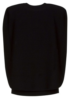 Givenchy Cape Blouse In Crepe