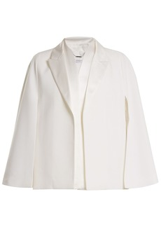 Givenchy Cape-sleeve wool jacket